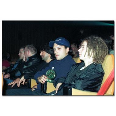 На концерте.